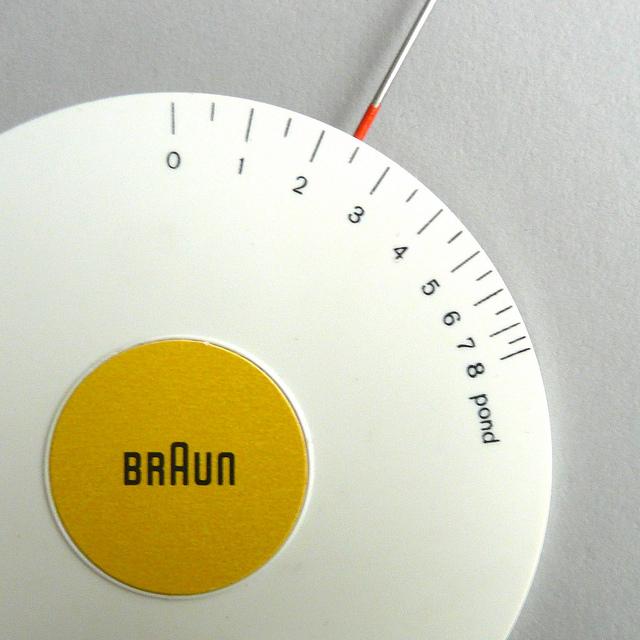 Braun Tonarmwaage