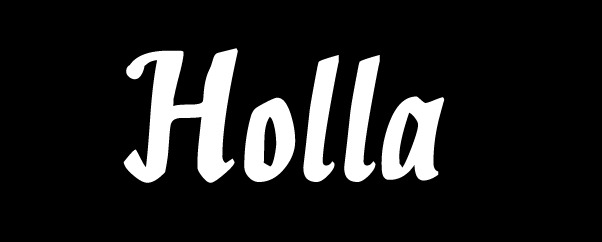 holla1 20 Handy Bold Script Fonts