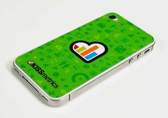 KISSmetrics iPhone Skins