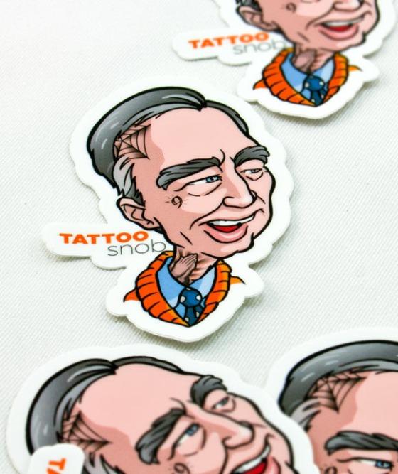 Tattoo Snob Stickers