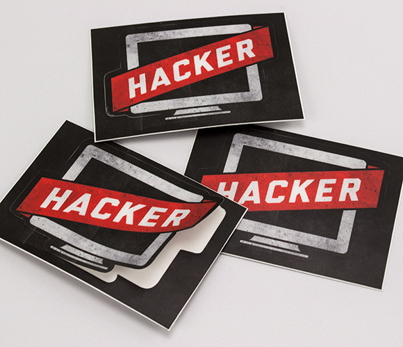 r076741443 hacker1 30 Creative Examples of Sticker Design