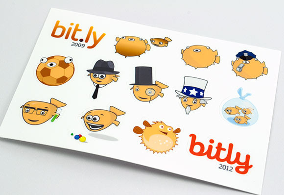 Bitly Sticker Sheets