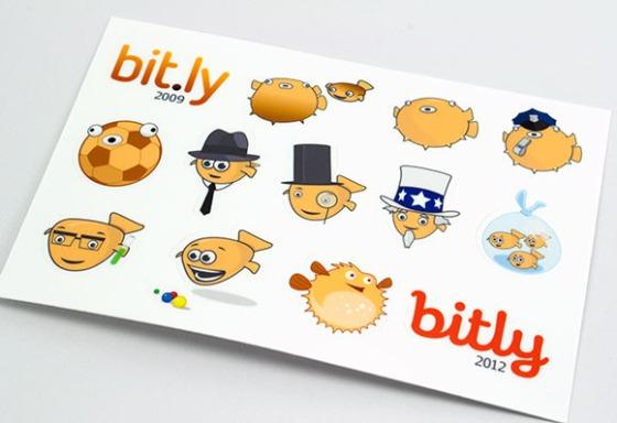 Bitly Sticker Sheets