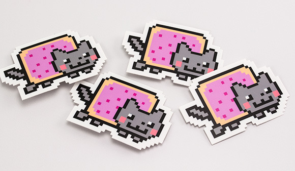 Nyan Cat Stickers