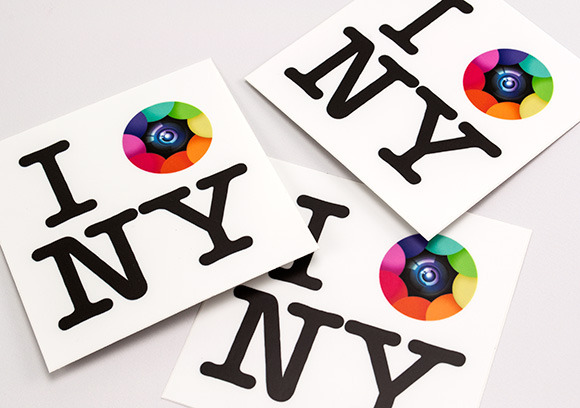 Kapture NY Stickers