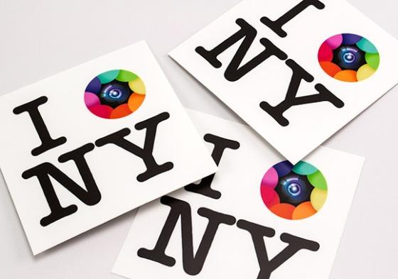 Kapture NY Stickers