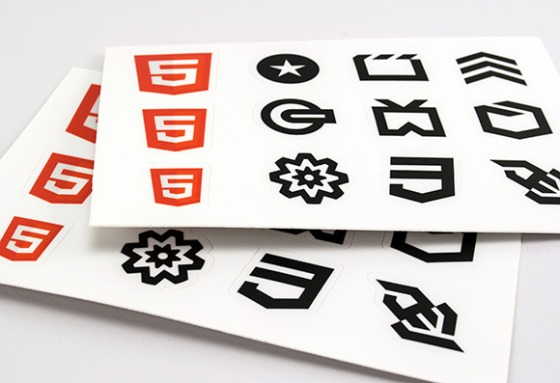 HTML5 Sticker Sheets