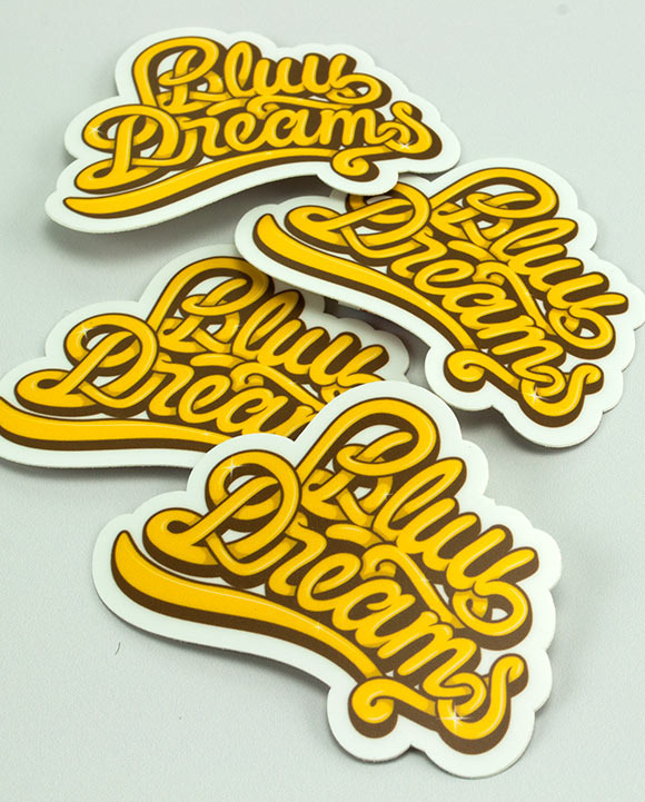 Bluu Dreams Stickers