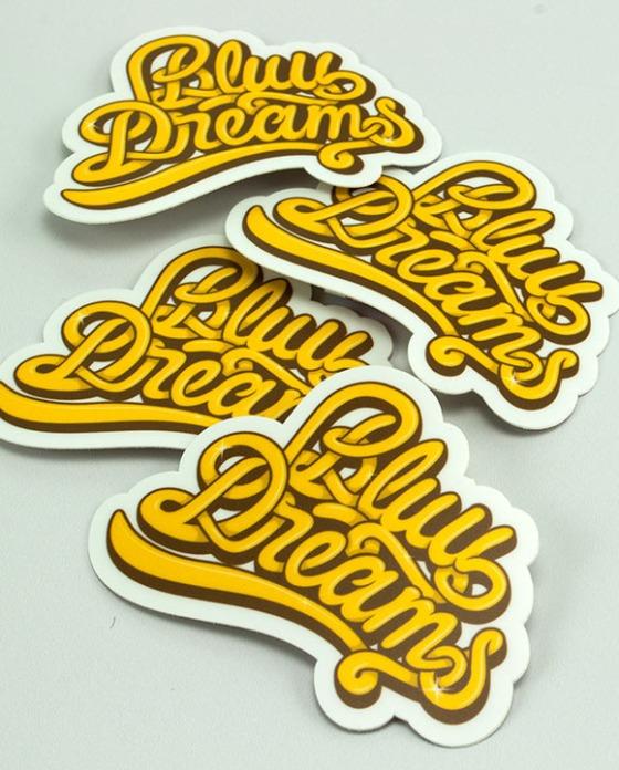 Bluu Dreams Stickers
