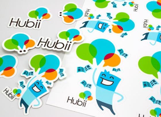 Hubii Stickers