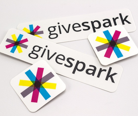 Givespark Stickers