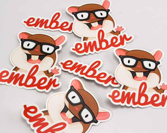 Ember.js Stickers