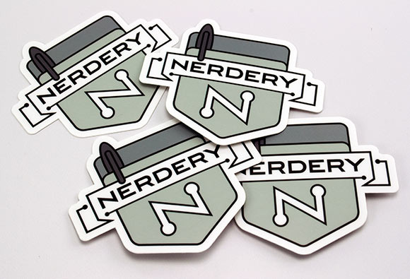 Nerdery Stickers
