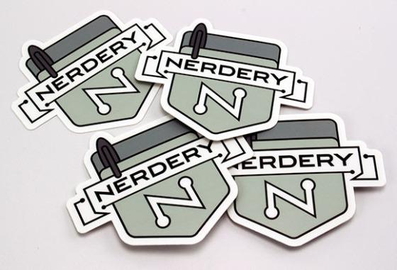 Nerdery Stickers