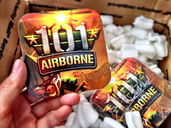 101 Airborne Stickers by Michael Flarup